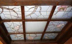 Characteristics of stained glass ceilings