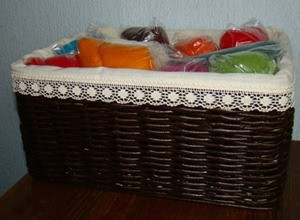 Do-it-yourself basket