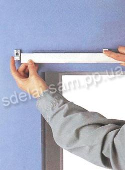 how to install the cornice