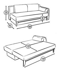 eurobook sofa do-it-yourself drawings