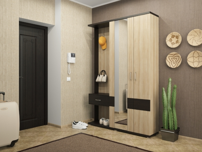 We select furniture for the hallway