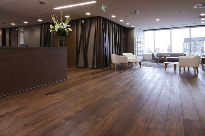 The history of installation of parquet flooring