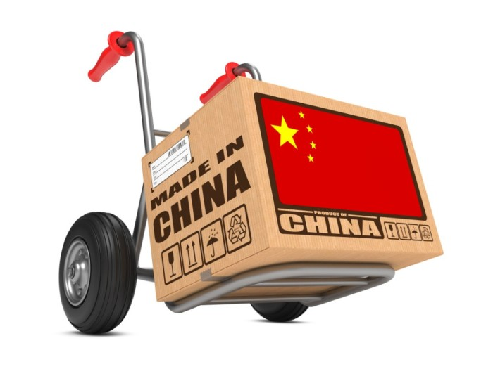 Supply of products from China to Ukraine