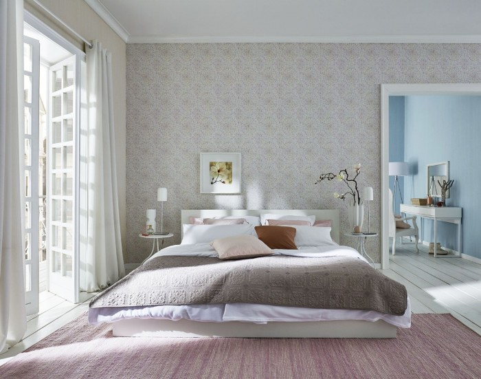 What wallpaper to choose for the bedroom