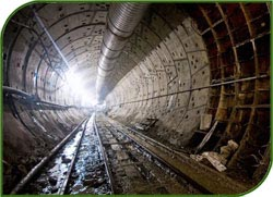 During the construction of the Moscow metro, mortality and injuries decreased by 30 percent.