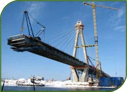 Construction of a new, 150 meters long bridge across the Neman in the Sinyavskaya Sloboda area will begin in 2015